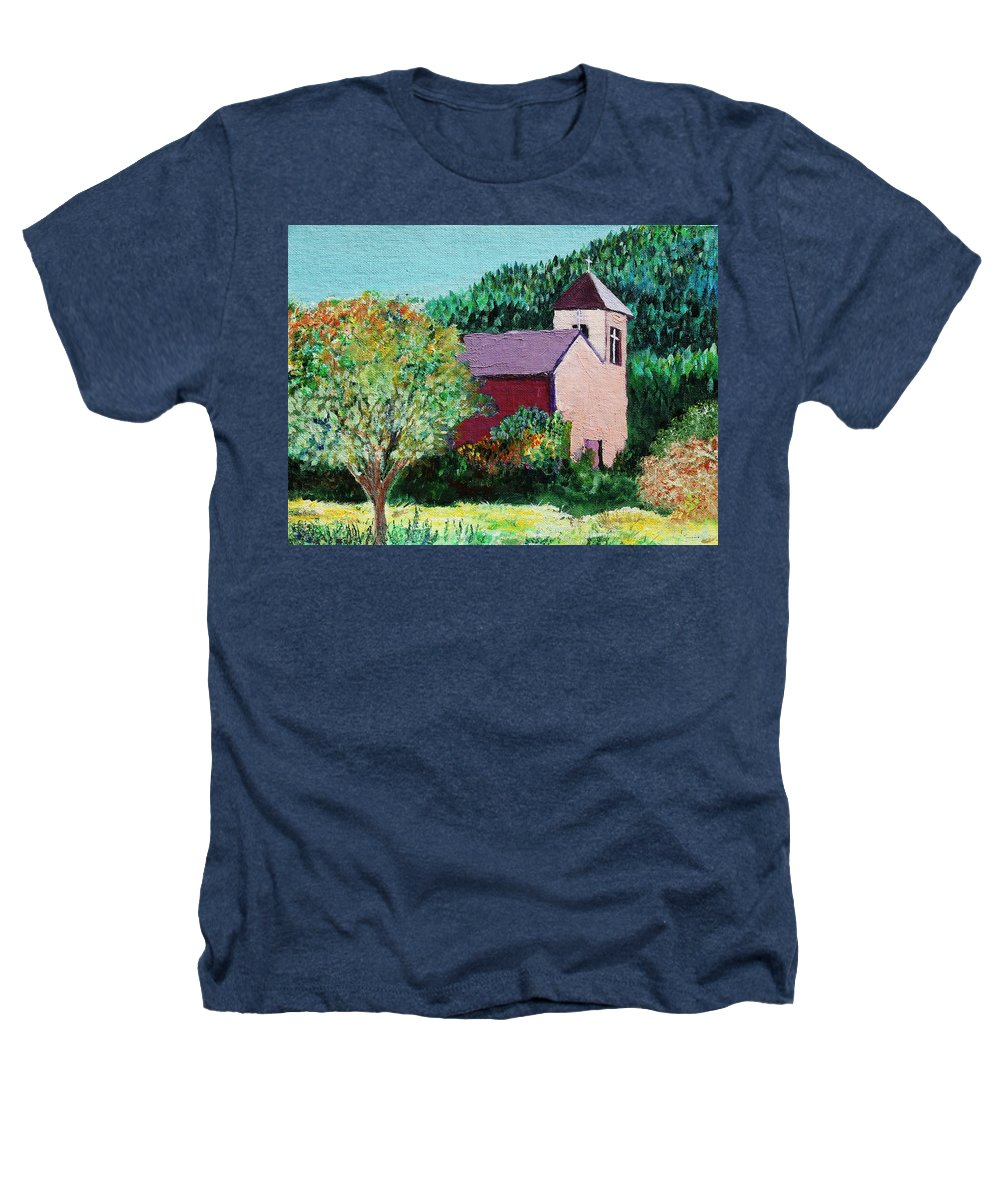 Church Heathers T-Shirt featuring the painting Ruidoso by Melinda Etzold