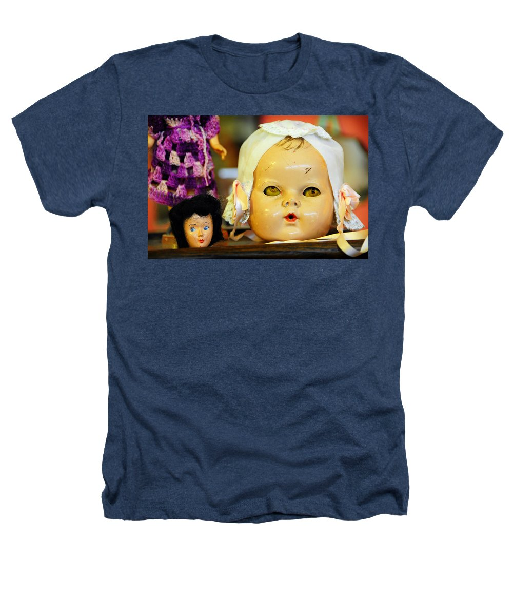 Antique Heathers T-Shirt featuring the photograph Rumormongers by Skip Hunt