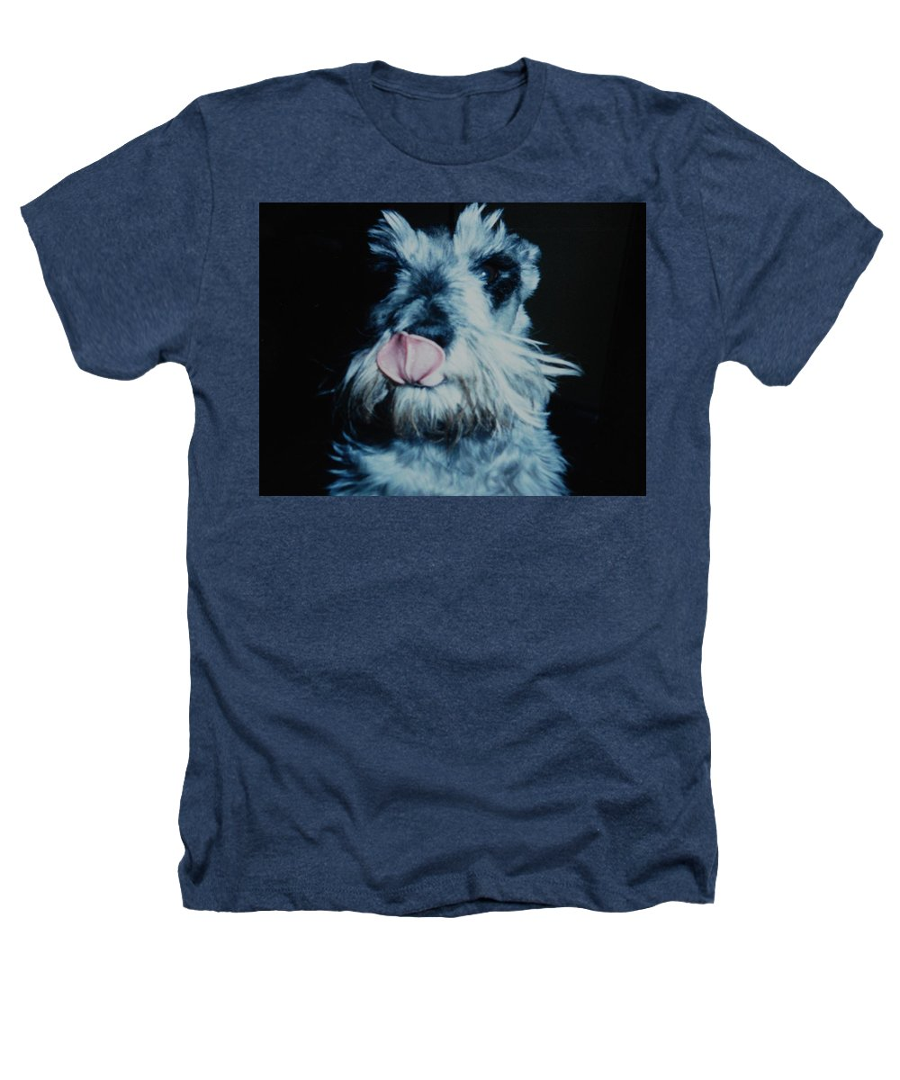 Dogs Heathers T-Shirt featuring the photograph Sam The Fat Cow by Rob Hans