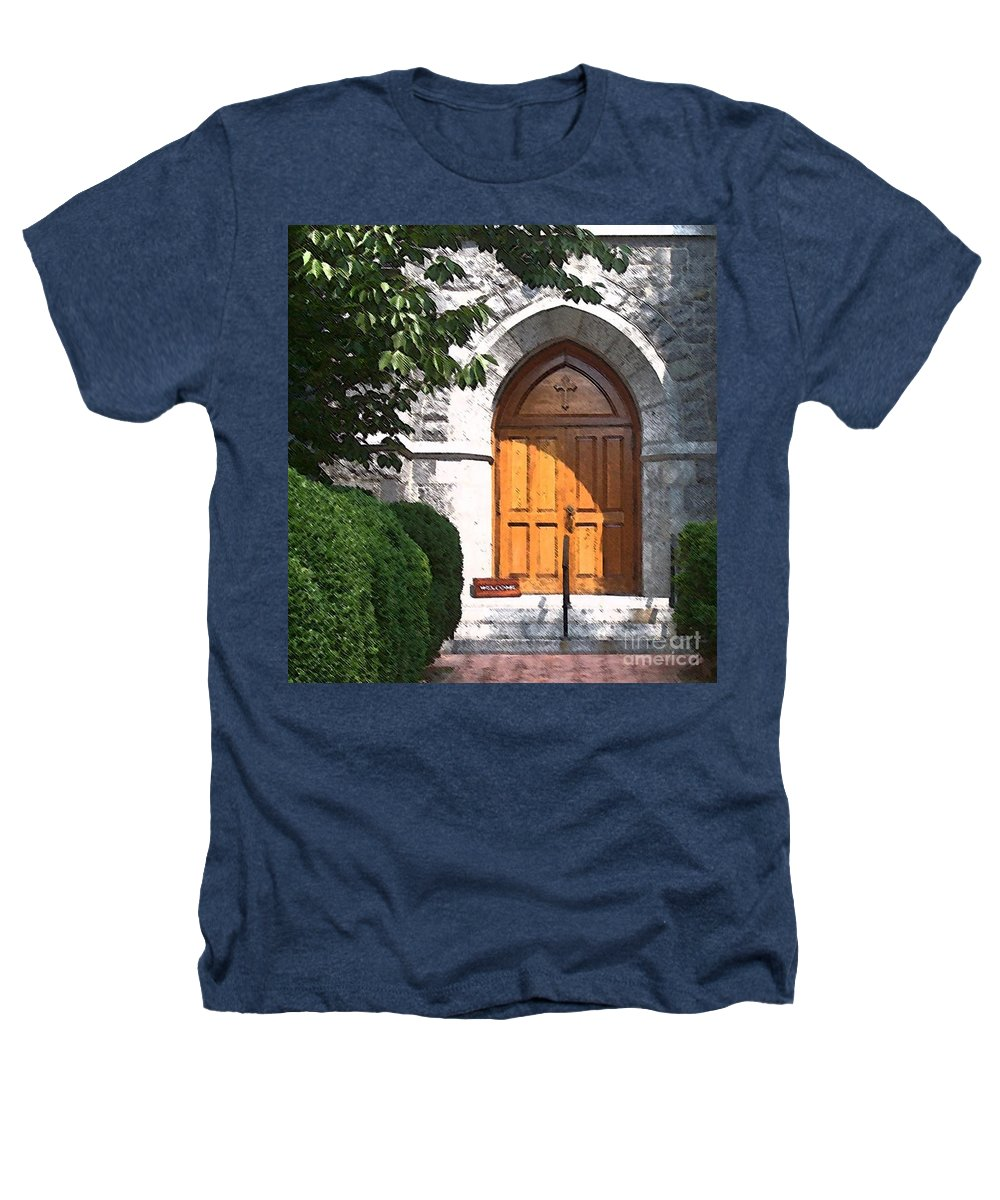 Church Heathers T-Shirt featuring the photograph Sanctuary by Debbi Granruth