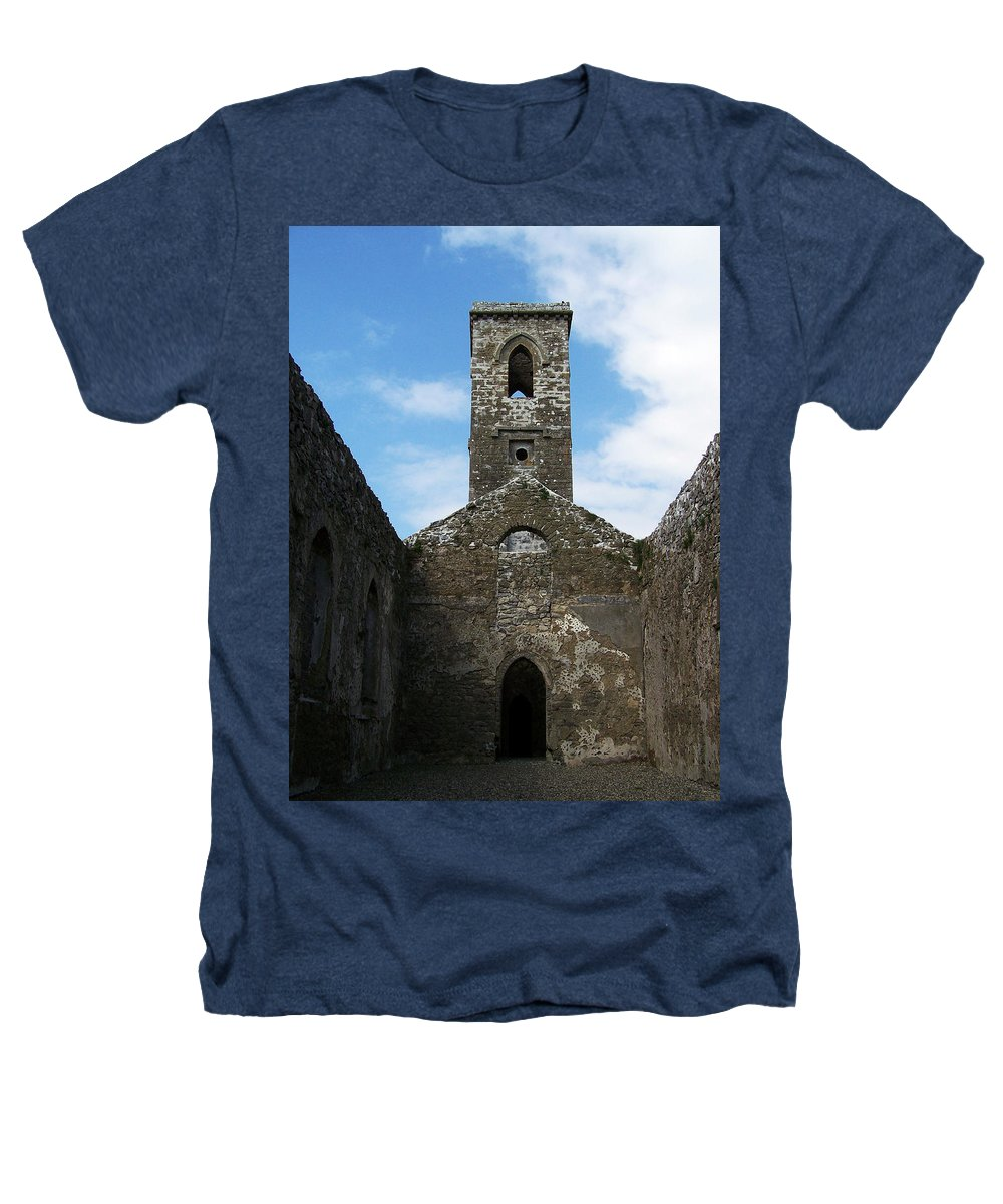 Ireland Heathers T-Shirt featuring the photograph Sanctuary Fuerty Church Roscommon Ireland by Teresa Mucha