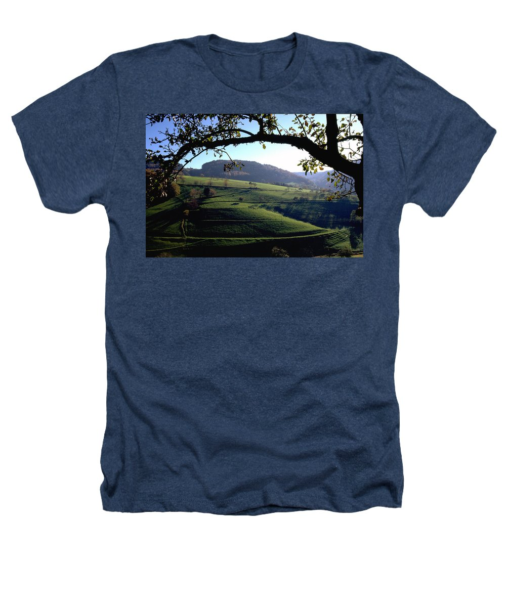 Schwarzwald Heathers T-Shirt featuring the photograph Schwarzwald by Flavia Westerwelle