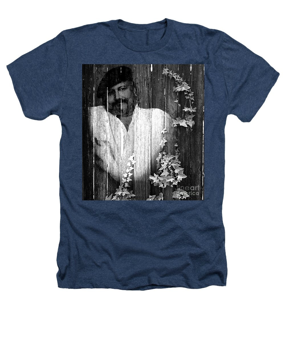 Clay Heathers T-Shirt featuring the photograph Self Portrait by Clayton Bruster