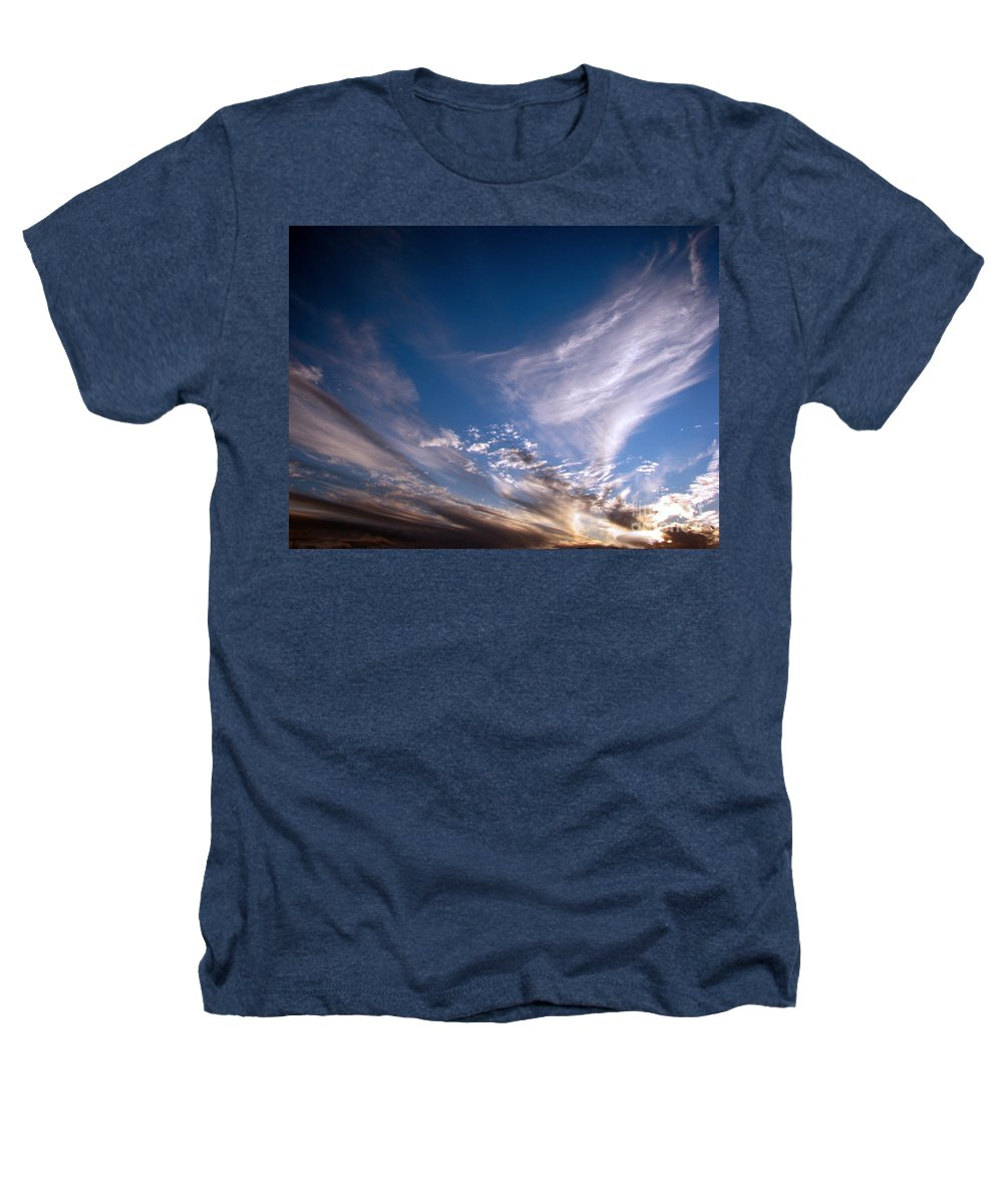 Skies Heathers T-Shirt featuring the photograph Sky by Amanda Barcon