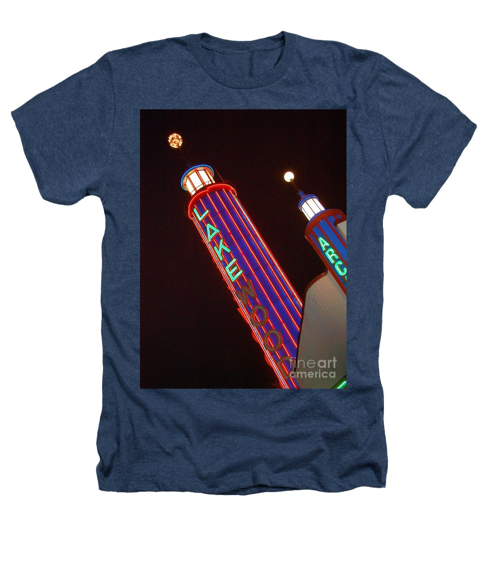 Neon Heathers T-Shirt featuring the photograph Sky Lights by Debbi Granruth