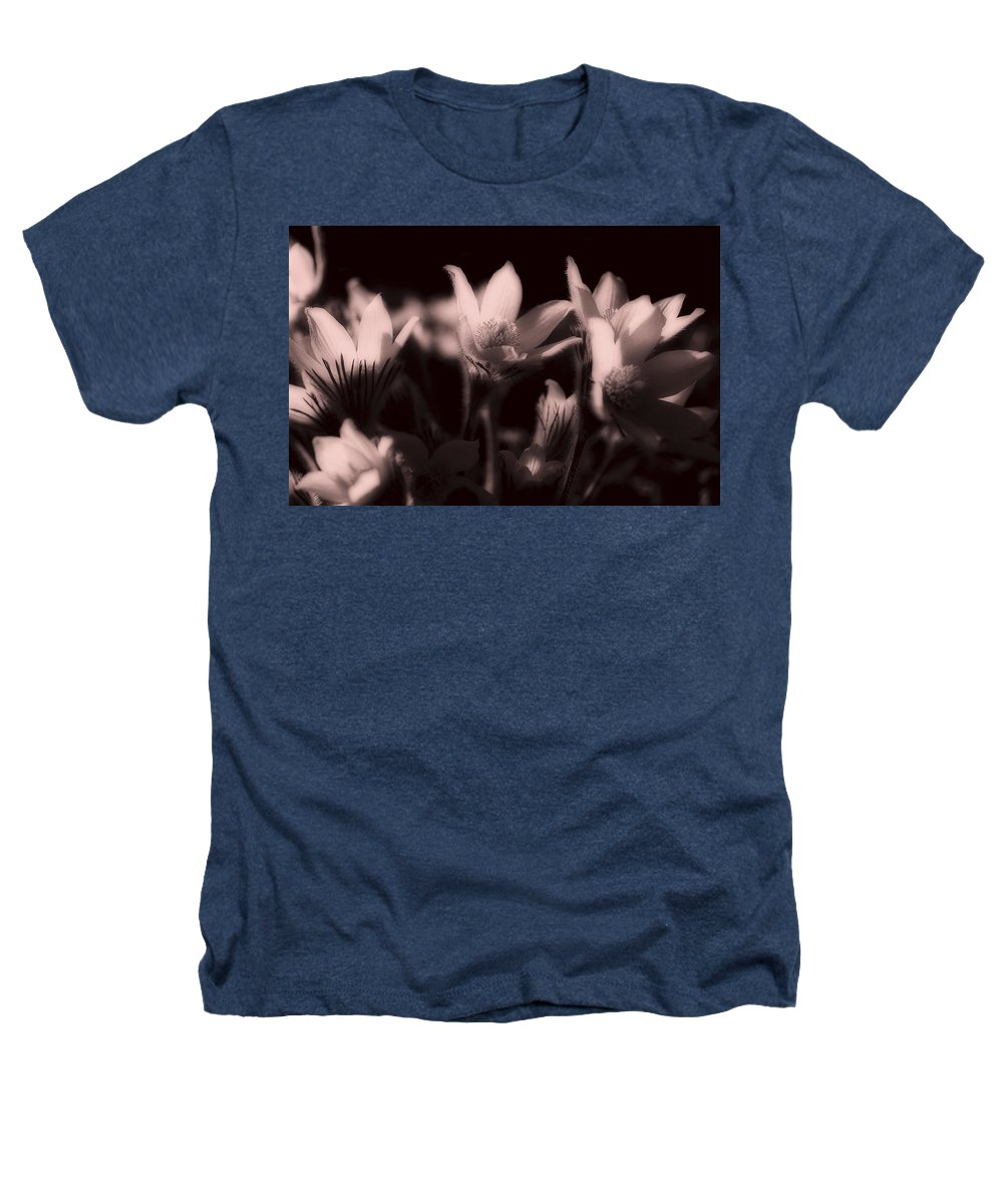 Flowers Heathers T-Shirt featuring the photograph Sleepy Flowers 2 by Marilyn Hunt