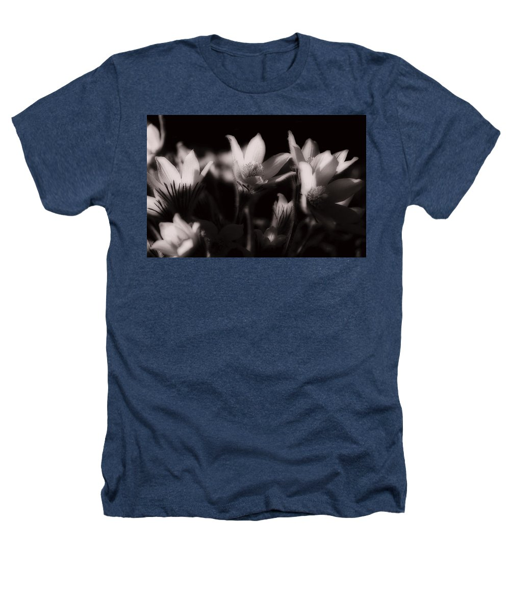 Flowers Heathers T-Shirt featuring the photograph Sleepy Flowers by Marilyn Hunt
