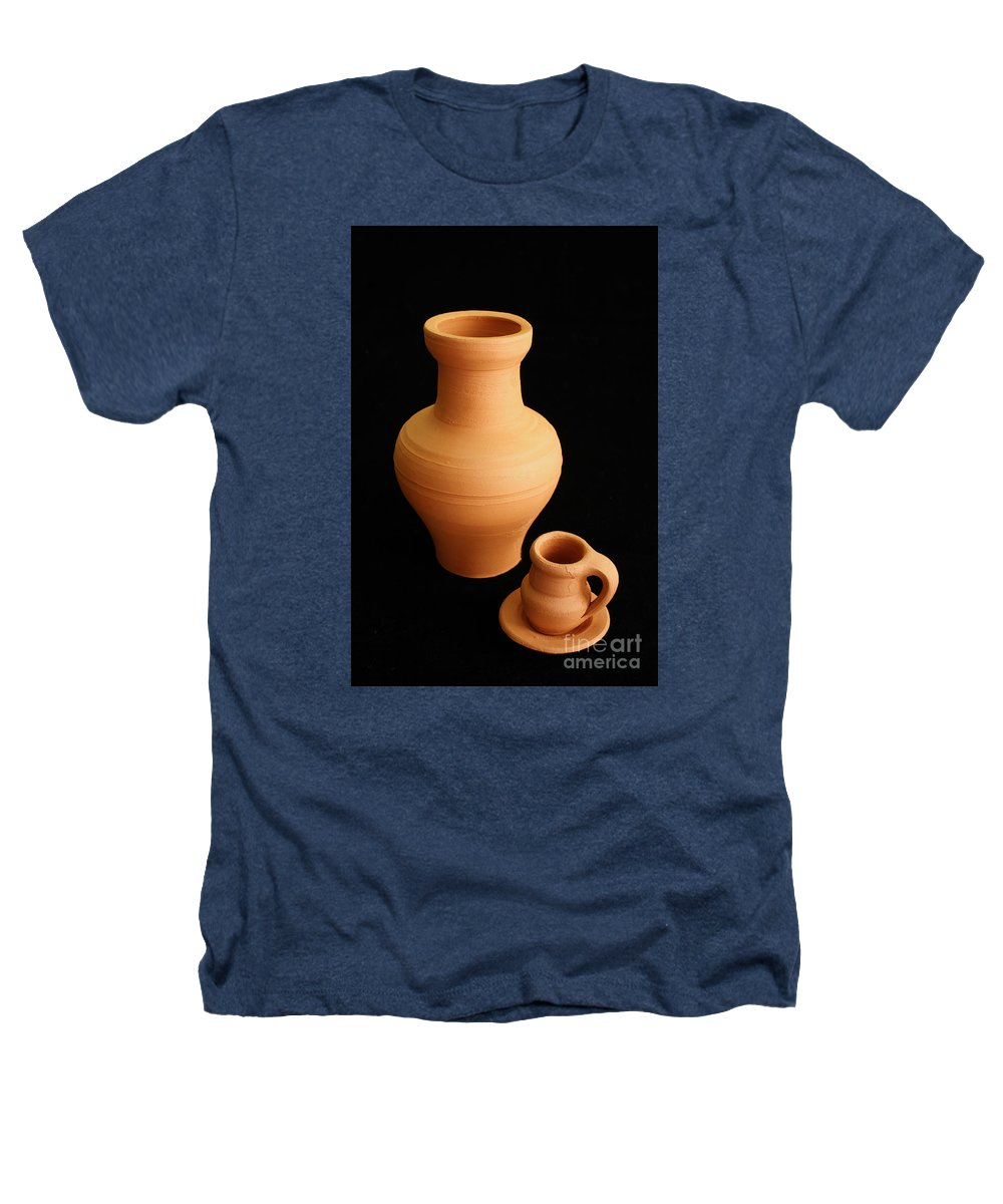 Ceramics Heathers T-Shirt featuring the photograph Small Pottery Items by Gaspar Avila