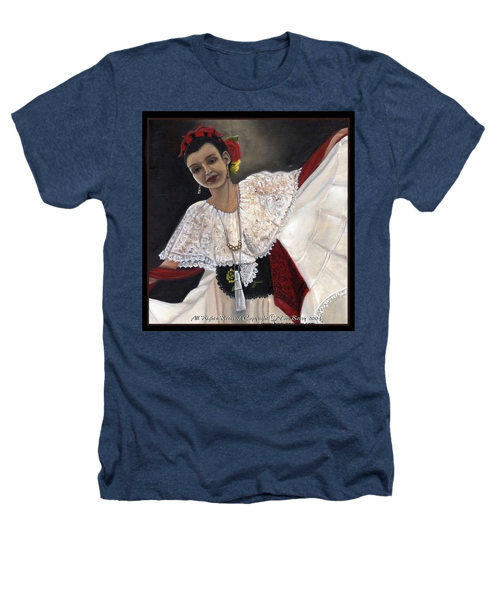 Heathers T-Shirt featuring the painting Solita by Toni Berry