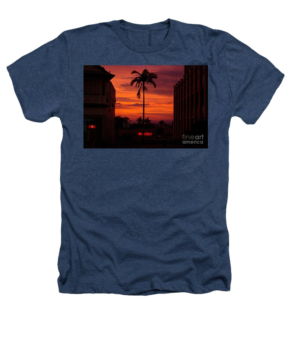 Innisfail Heathers T-Shirt featuring the photograph Solitary Passage by Kerryn Madsen- Pietsch