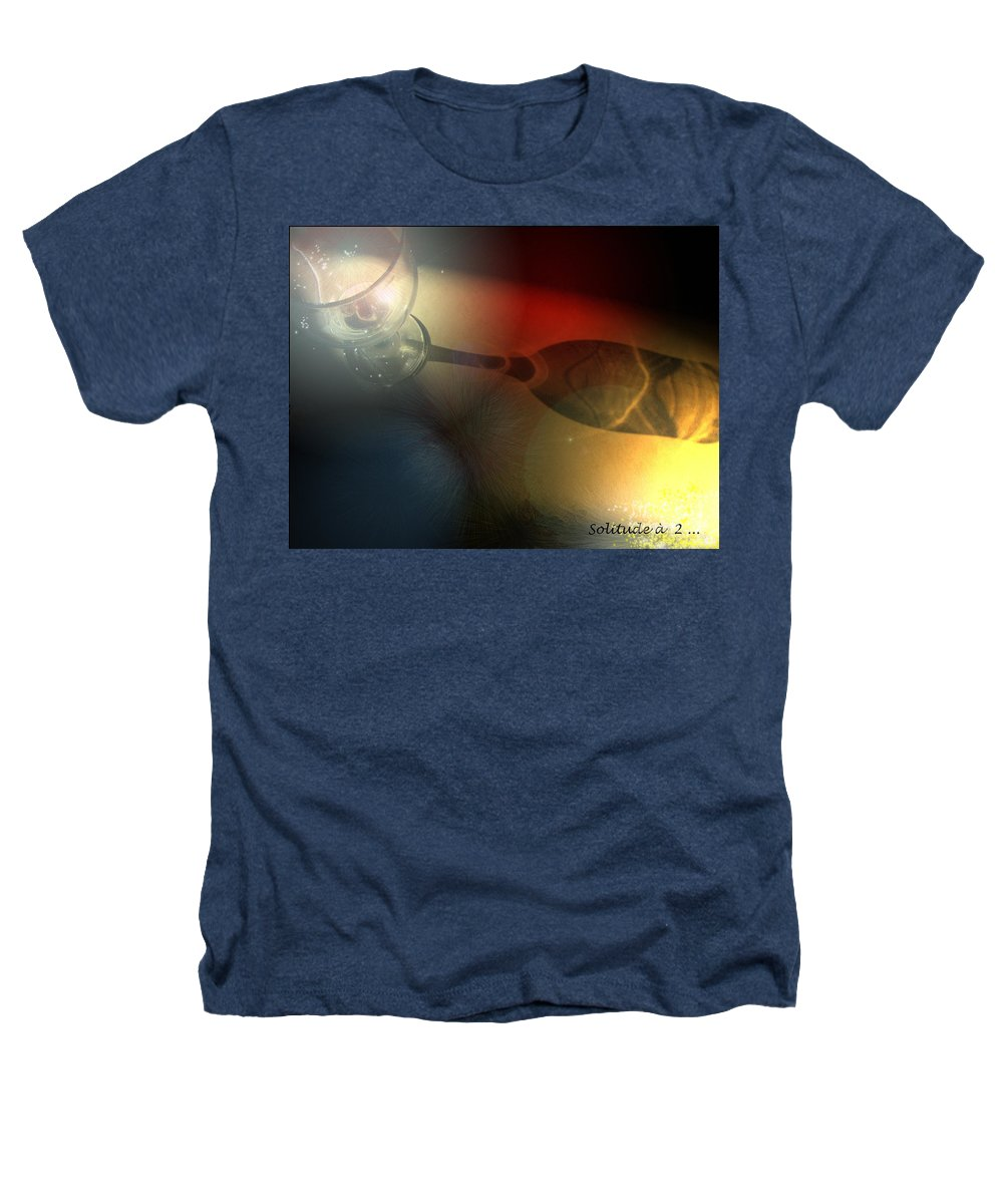 Fantasy Heathers T-Shirt featuring the photograph Solitude A Deux by Miki De Goodaboom