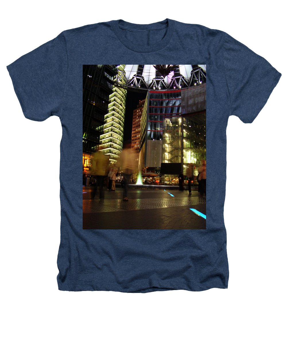 Sony Center Heathers T-Shirt featuring the photograph Sony Center by Flavia Westerwelle