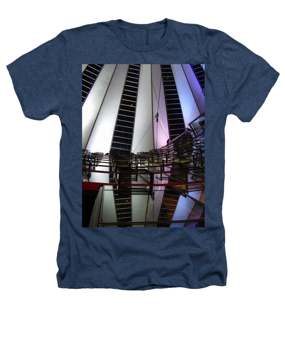 Sony Center Heathers T-Shirt featuring the photograph Sony Center II by Flavia Westerwelle