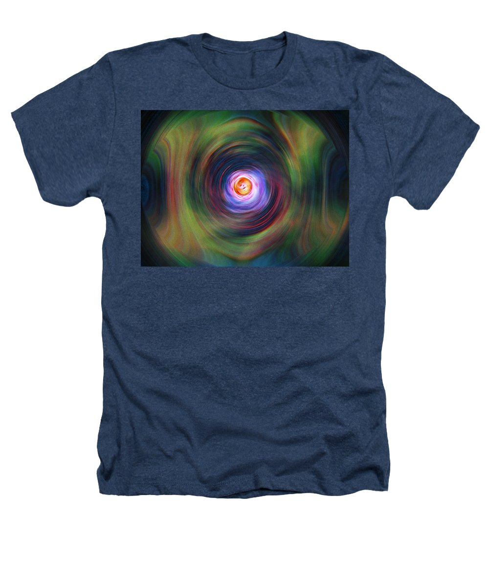 Abstrract Heathers T-Shirt featuring the digital art Space Time Sequence by Don Quackenbush