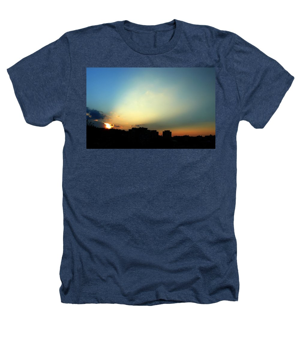 Nature Heathers T-Shirt featuring the photograph Spotlight by Daniel Csoka