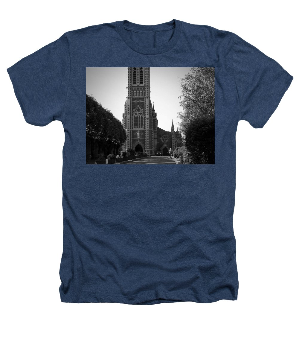 Irish Heathers T-Shirt featuring the photograph St. John's Church Tralee Ireland by Teresa Mucha