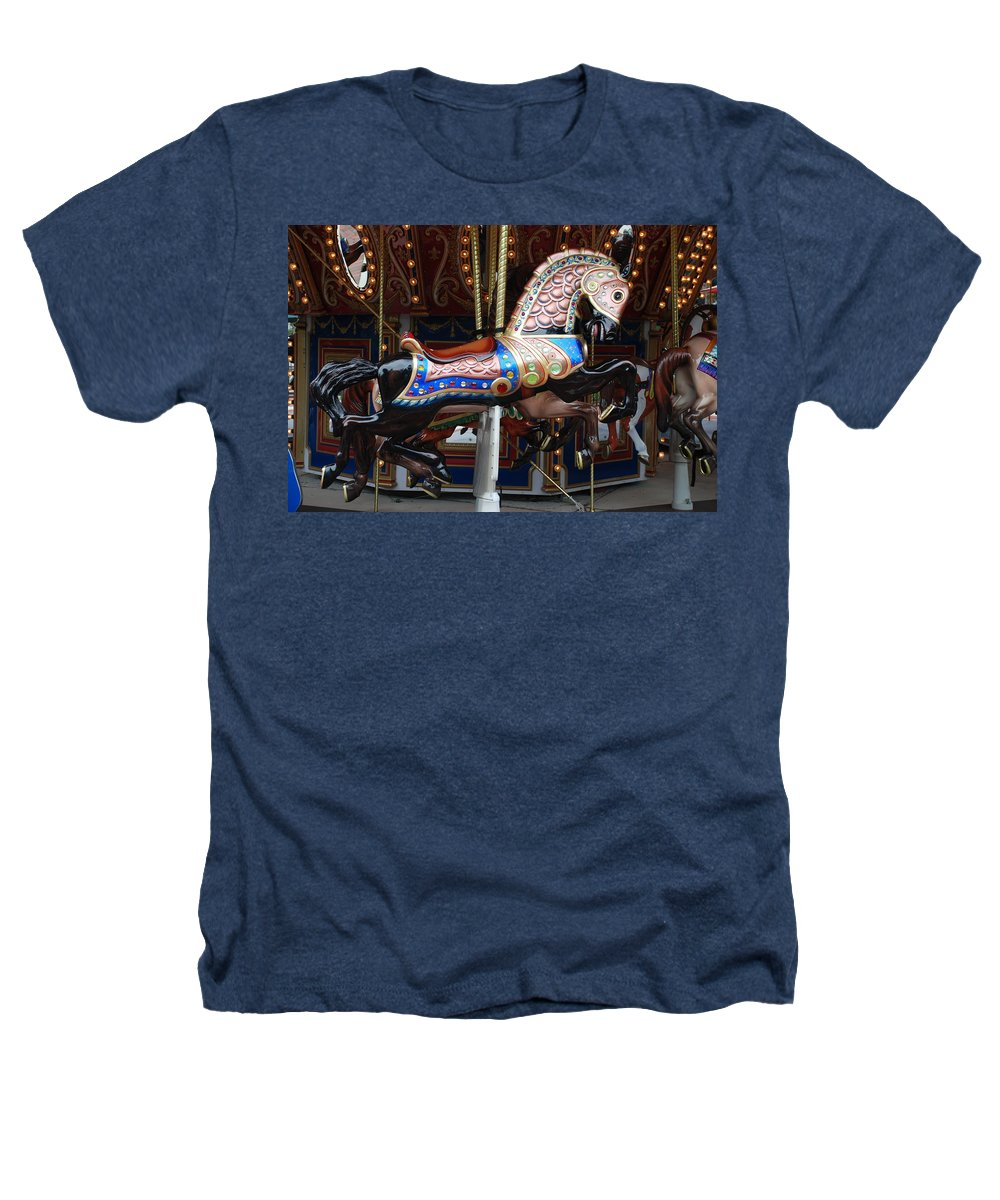 Pop Art Heathers T-Shirt featuring the photograph Stallion by Rob Hans