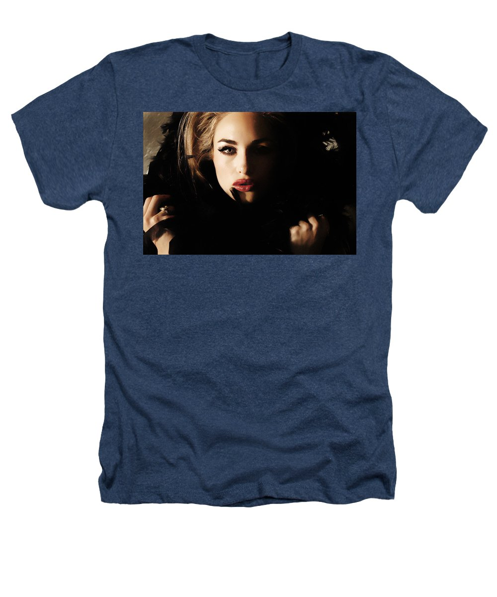 Clay Heathers T-Shirt featuring the photograph Stare by Clayton Bruster
