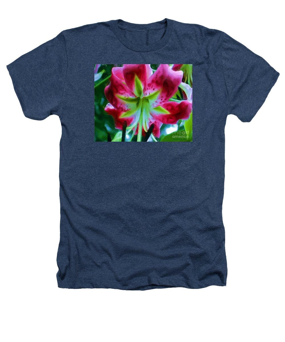 Fine Art Photography Heathers T-Shirt featuring the photograph Stargazer by Patricia Griffin Brett