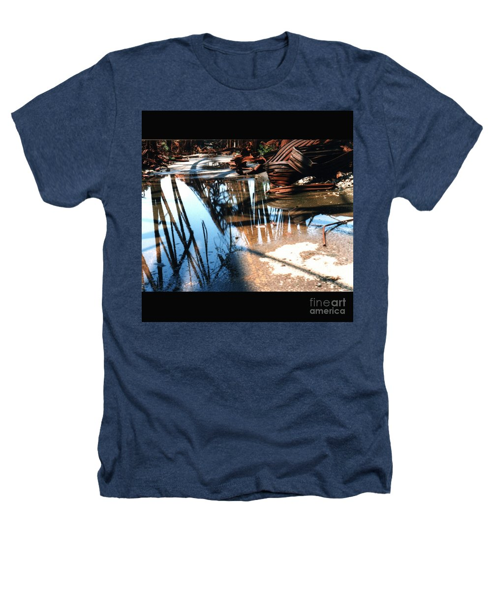 Cityscape Heathers T-Shirt featuring the photograph Steel River by Ze DaLuz