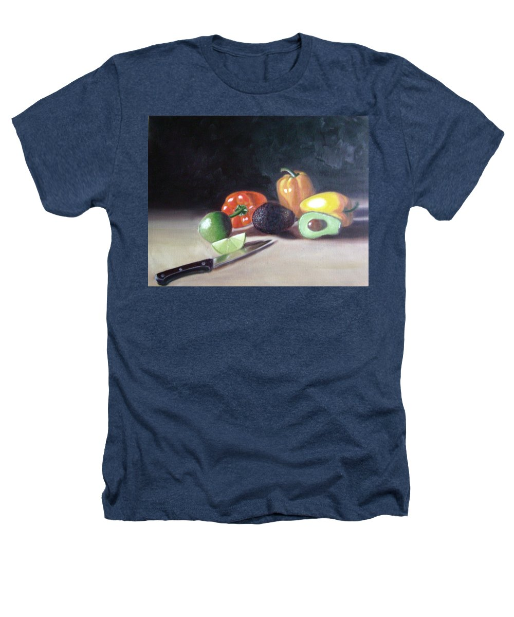 Heathers T-Shirt featuring the painting Still-life by Toni Berry