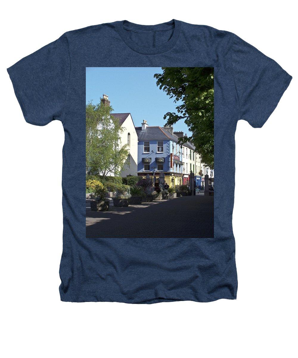 Irish Heathers T-Shirt featuring the photograph Street Corner In Tralee Ireland by Teresa Mucha