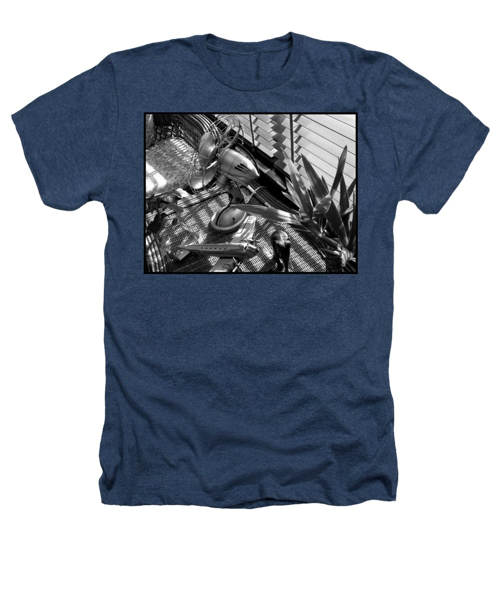 Still Life Heathers T-Shirt featuring the photograph Suburban Safari by Charles Stuart
