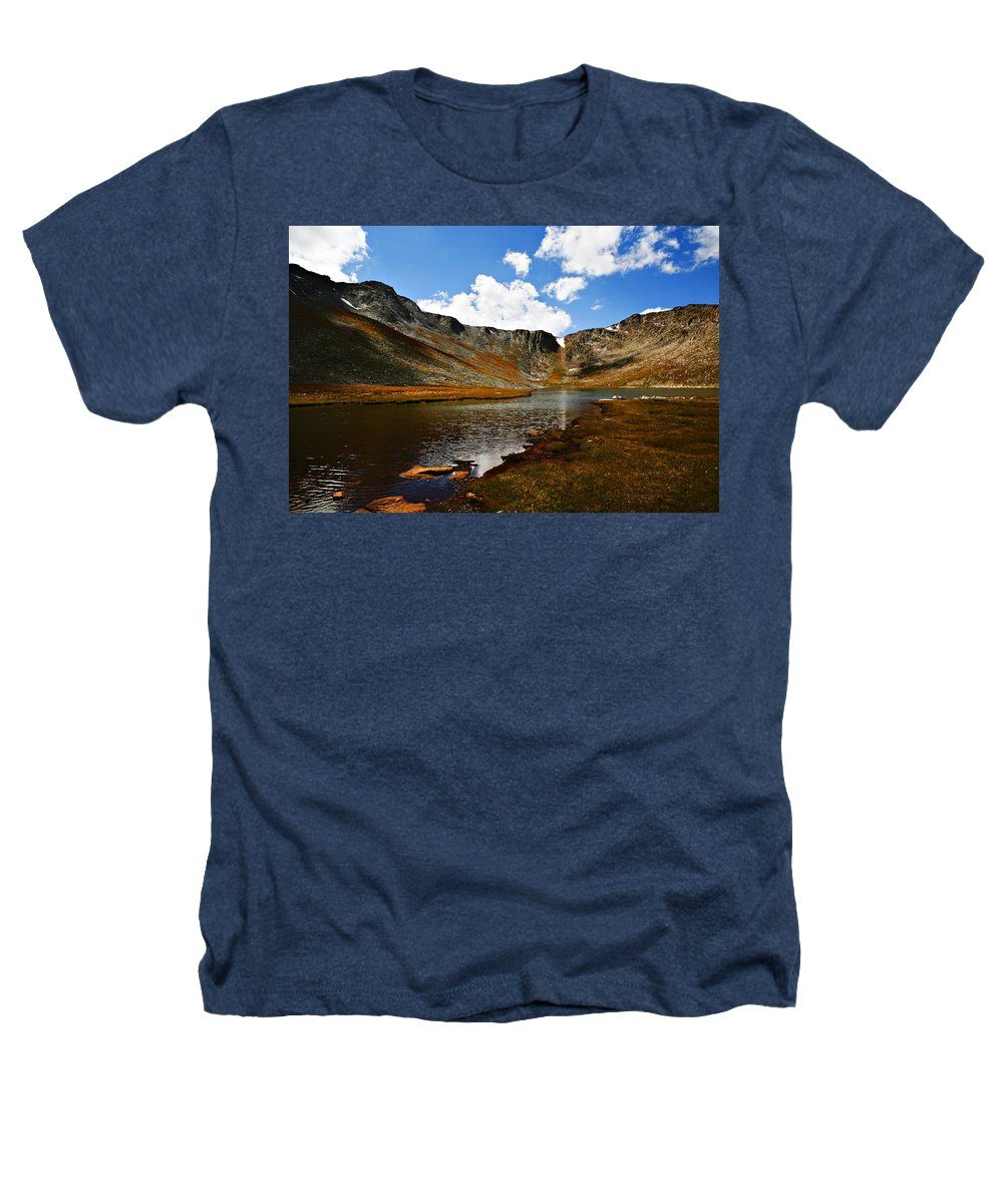 Travel Heathers T-Shirt featuring the photograph Summit Lake Colorado by Marilyn Hunt