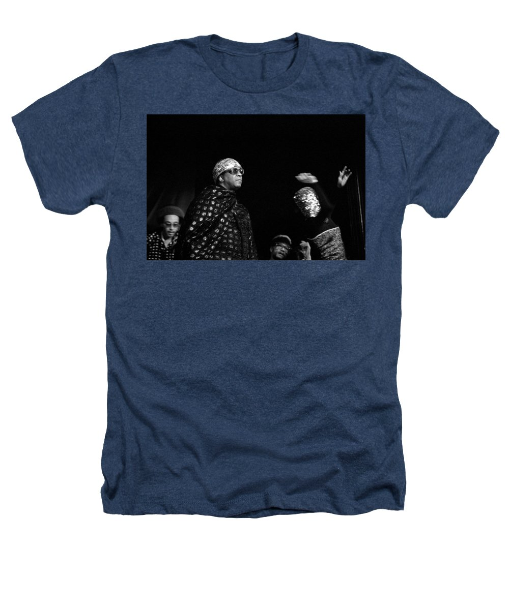 Jazz Heathers T-Shirt featuring the photograph Sun Ra by Lee Santa