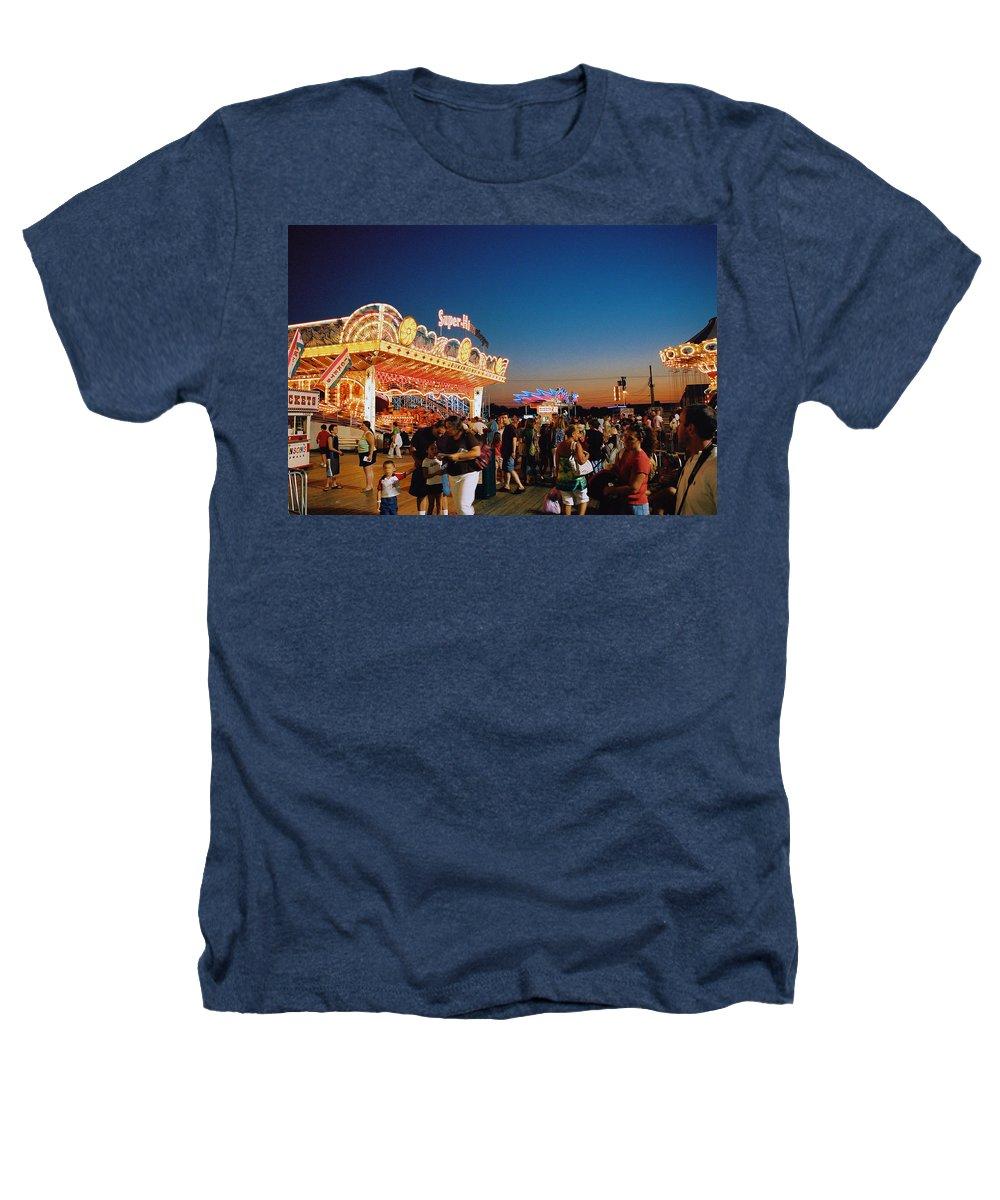 Board Walk Heathers T-Shirt featuring the photograph Super Himalaya by Steve Karol