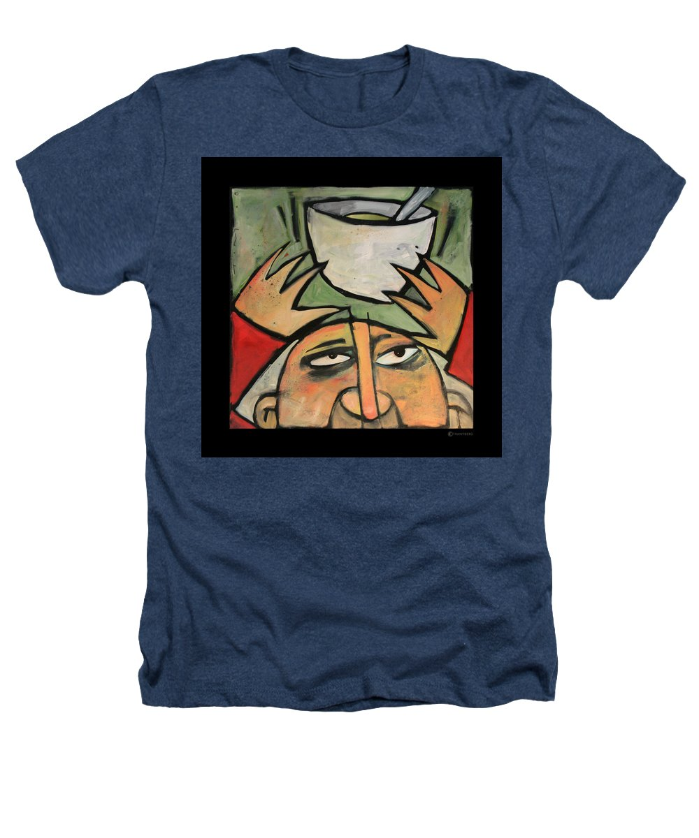Humor Heathers T-Shirt featuring the painting The Amazing Brad Soup Juggler by Tim Nyberg