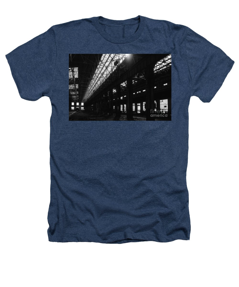 Buildings Heathers T-Shirt featuring the photograph The Back Shop by Richard Rizzo