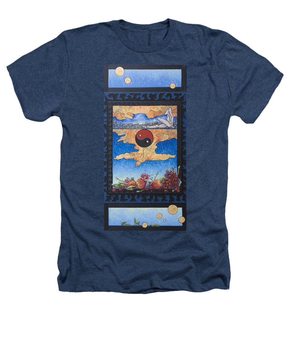 Karma Heathers T-Shirt featuring the painting The Dream by Judy Henninger