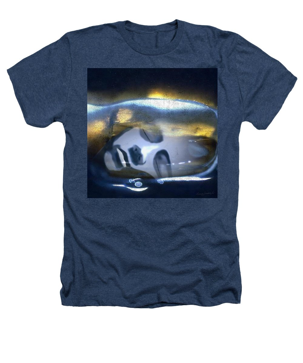 Dream Sky Universe Methaphysics Aura Afterlife Heathers T-Shirt featuring the digital art The Dream by Veronica Jackson