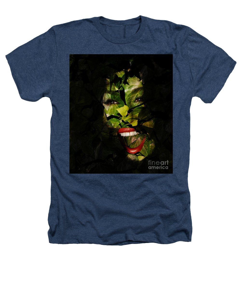 Clay Heathers T-Shirt featuring the photograph The Eyes Of Ivy by Clayton Bruster