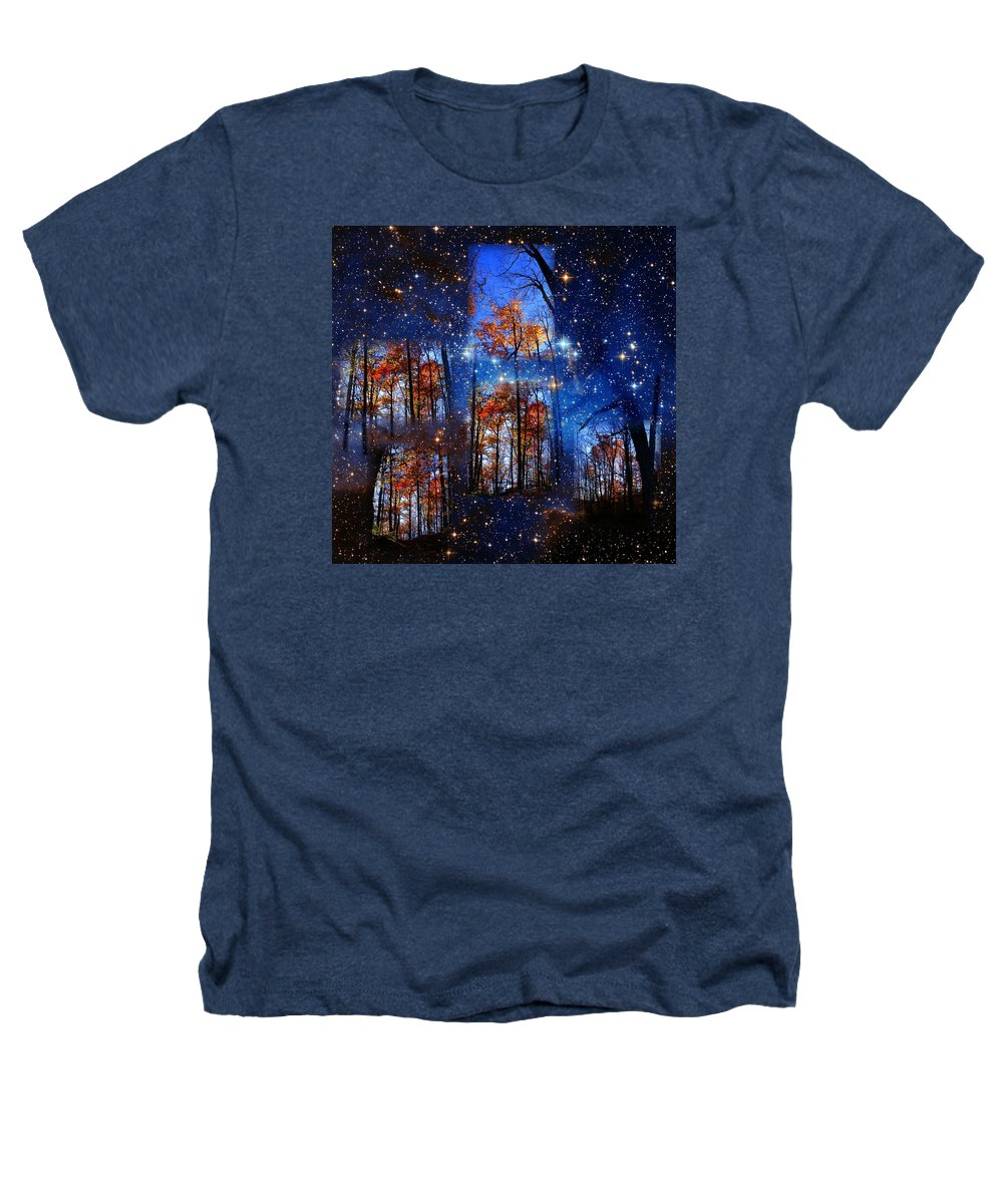 Deep Space Heathers T-Shirt featuring the photograph The Face Of Forever by Dave Martsolf