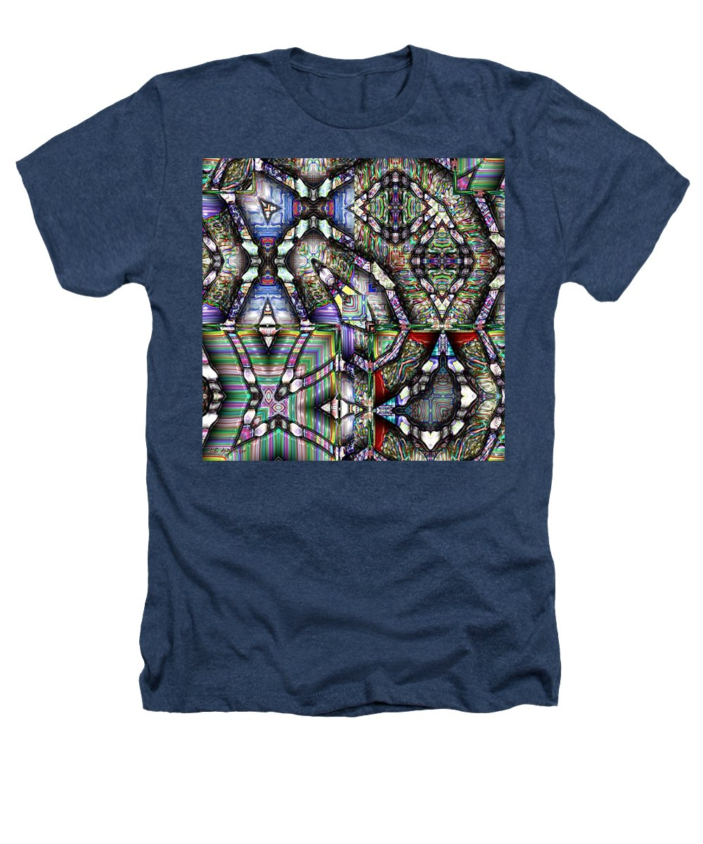 Abstract Heathers T-Shirt featuring the painting The Four Horsemen Of The Apocalypse by RC deWinter