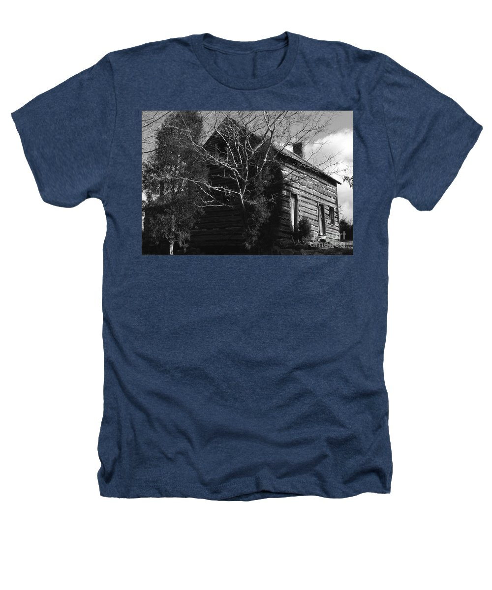 Cabins Heathers T-Shirt featuring the photograph The Homestead by Richard Rizzo