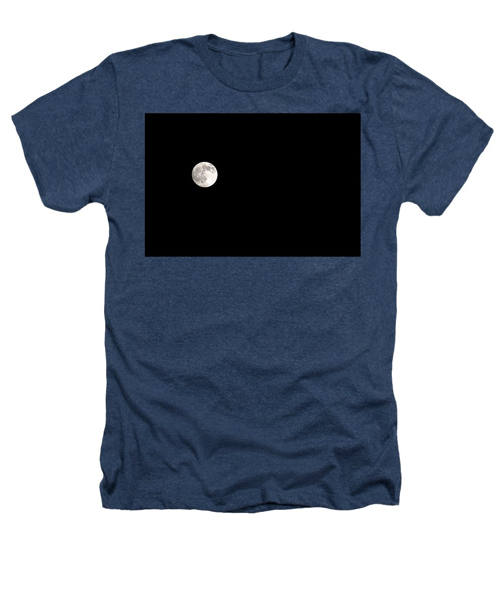 Clay Heathers T-Shirt featuring the photograph The Moon by Clayton Bruster
