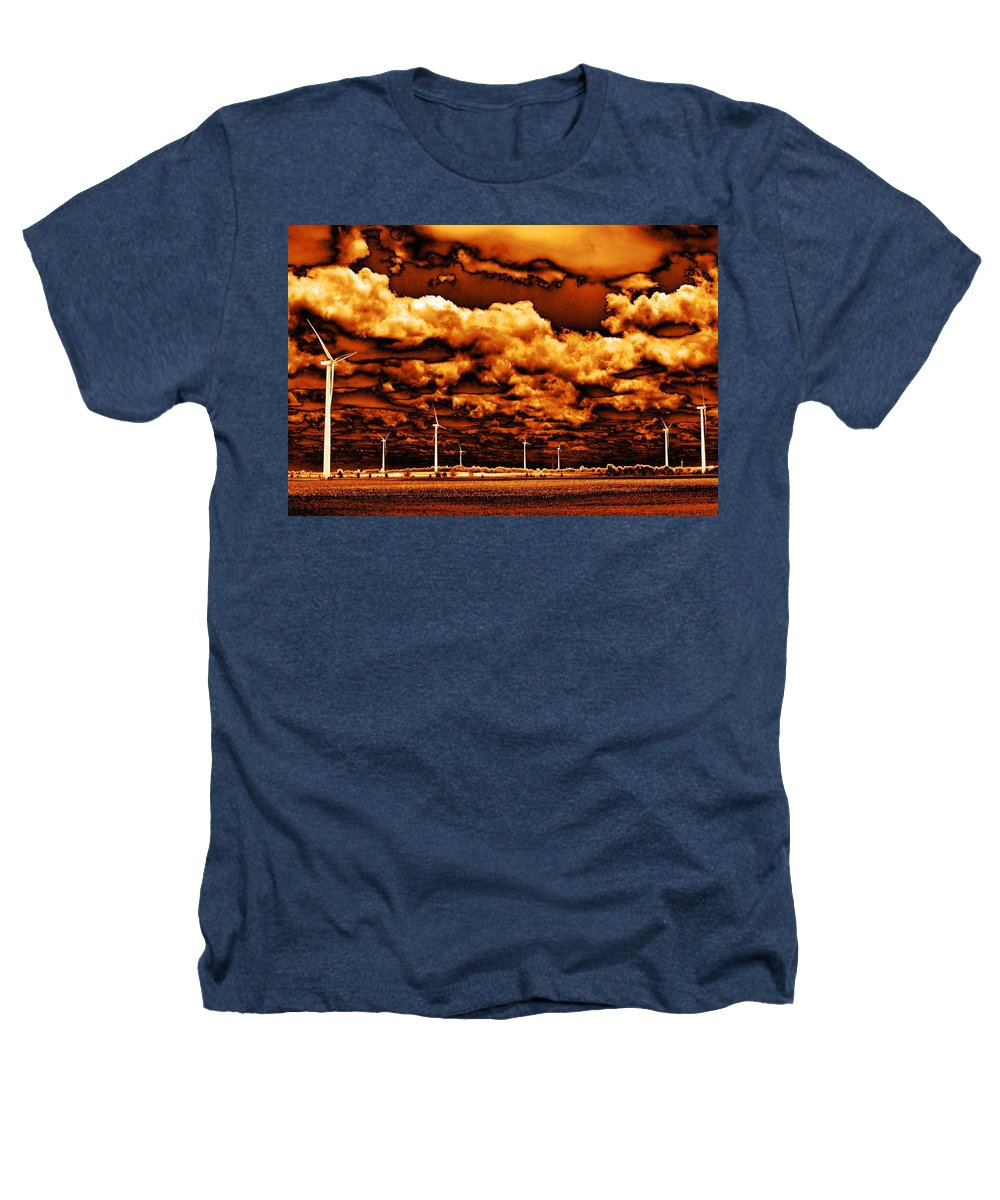 Sky Heathers T-Shirt featuring the photograph The New Trees by Ed Smith