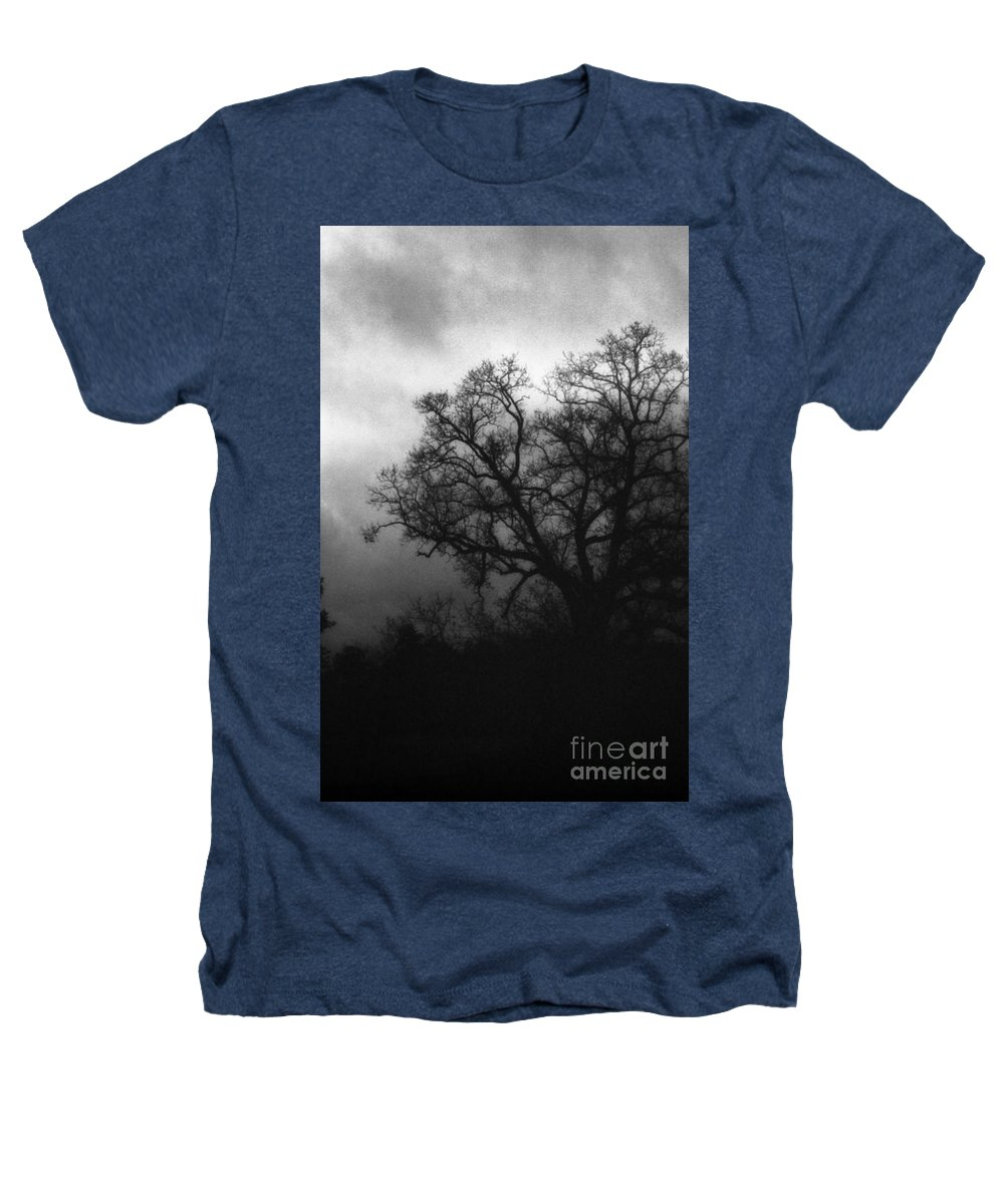 Eerie Heathers T-Shirt featuring the photograph The Other Side by Richard Rizzo