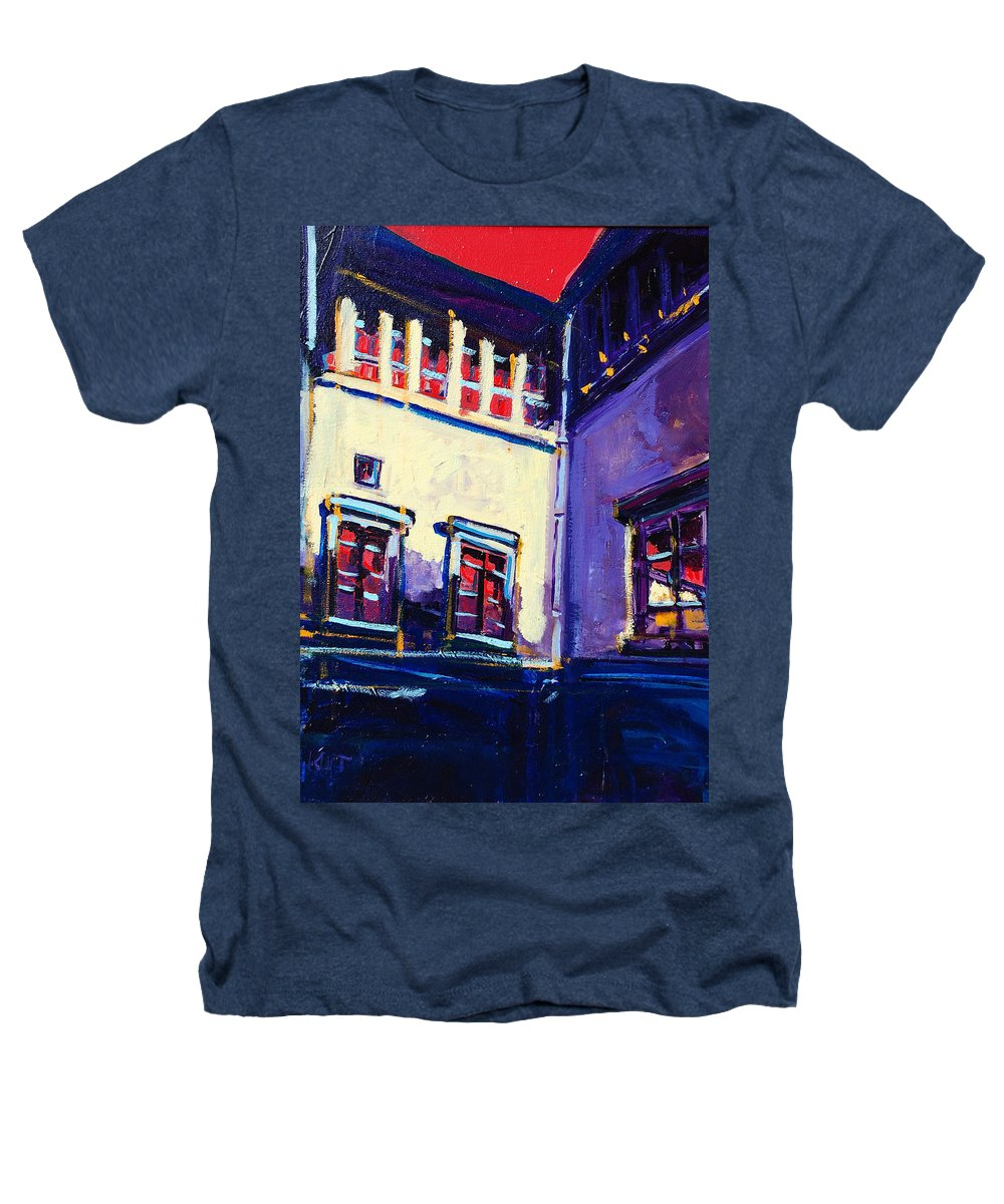 School Heathers T-Shirt featuring the painting The School by Kurt Hausmann
