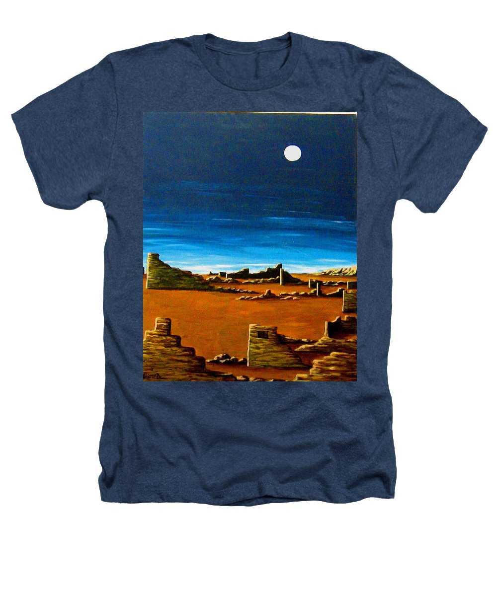 Anasazi Heathers T-Shirt featuring the painting Timeless by Diana Dearen
