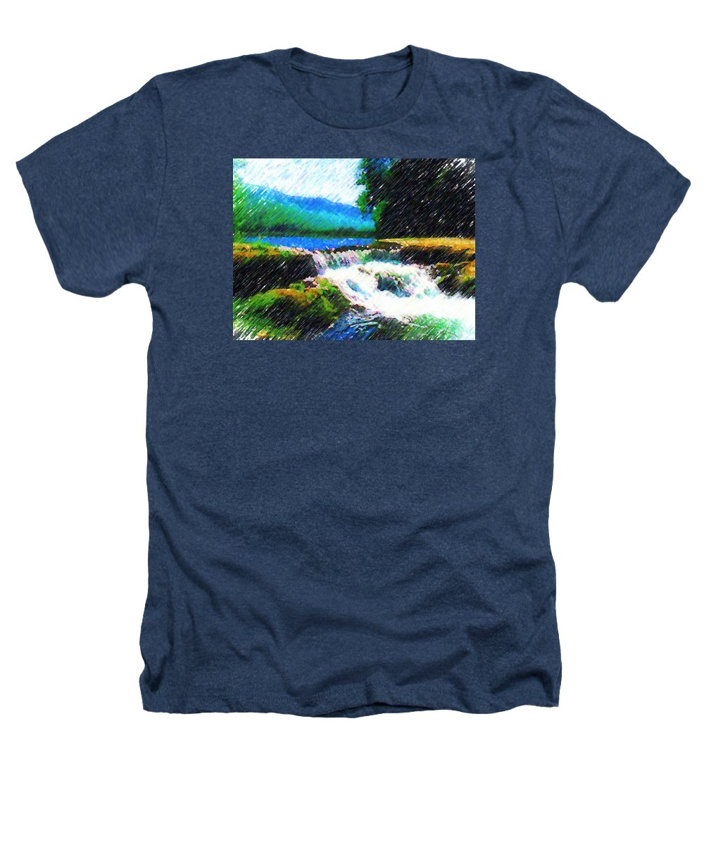 Landscape Heathers T-Shirt featuring the photograph Tolhuaca by Madalena Lobao-Tello