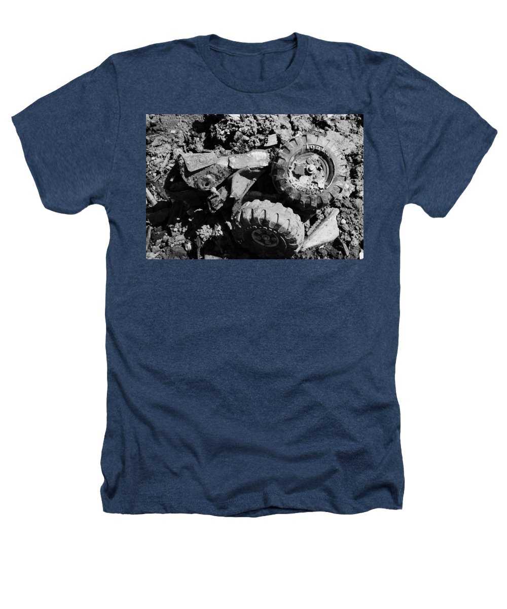 Toy Heathers T-Shirt featuring the photograph Tossed Toy by Angus Hooper Iii