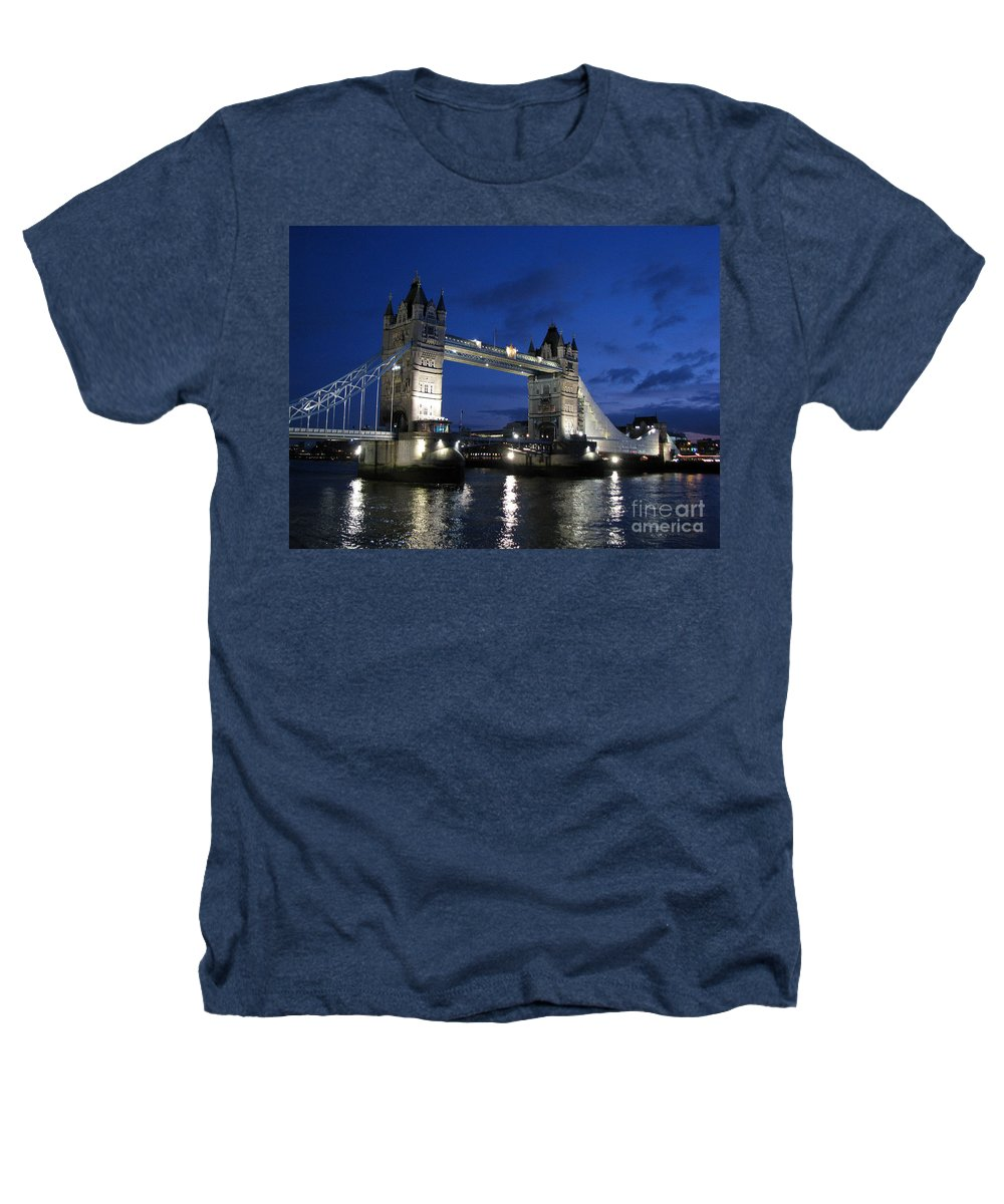 London Heathers T-Shirt featuring the photograph Tower Bridge by Amanda Barcon