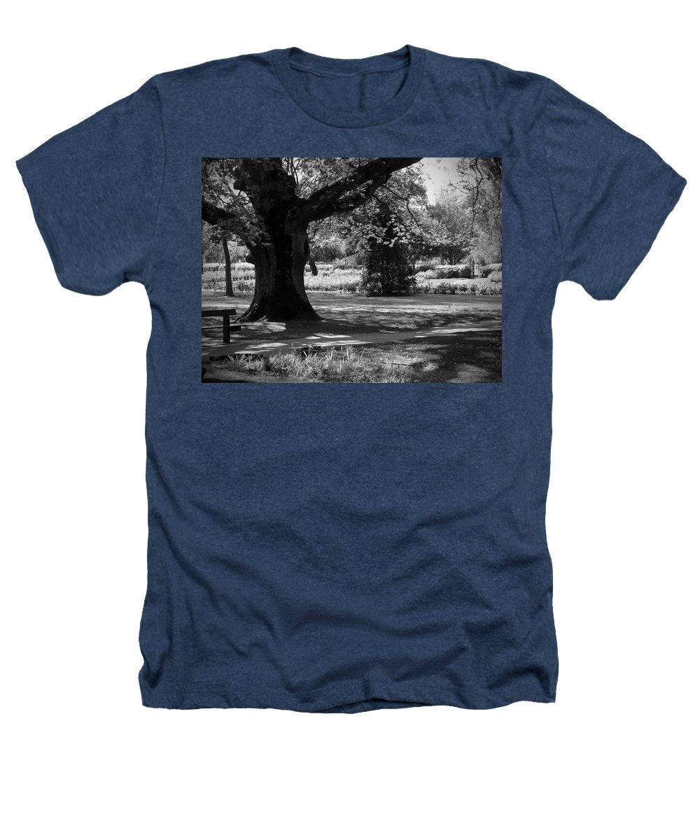 Irish Heathers T-Shirt featuring the photograph Tralee Town Park Ireland by Teresa Mucha