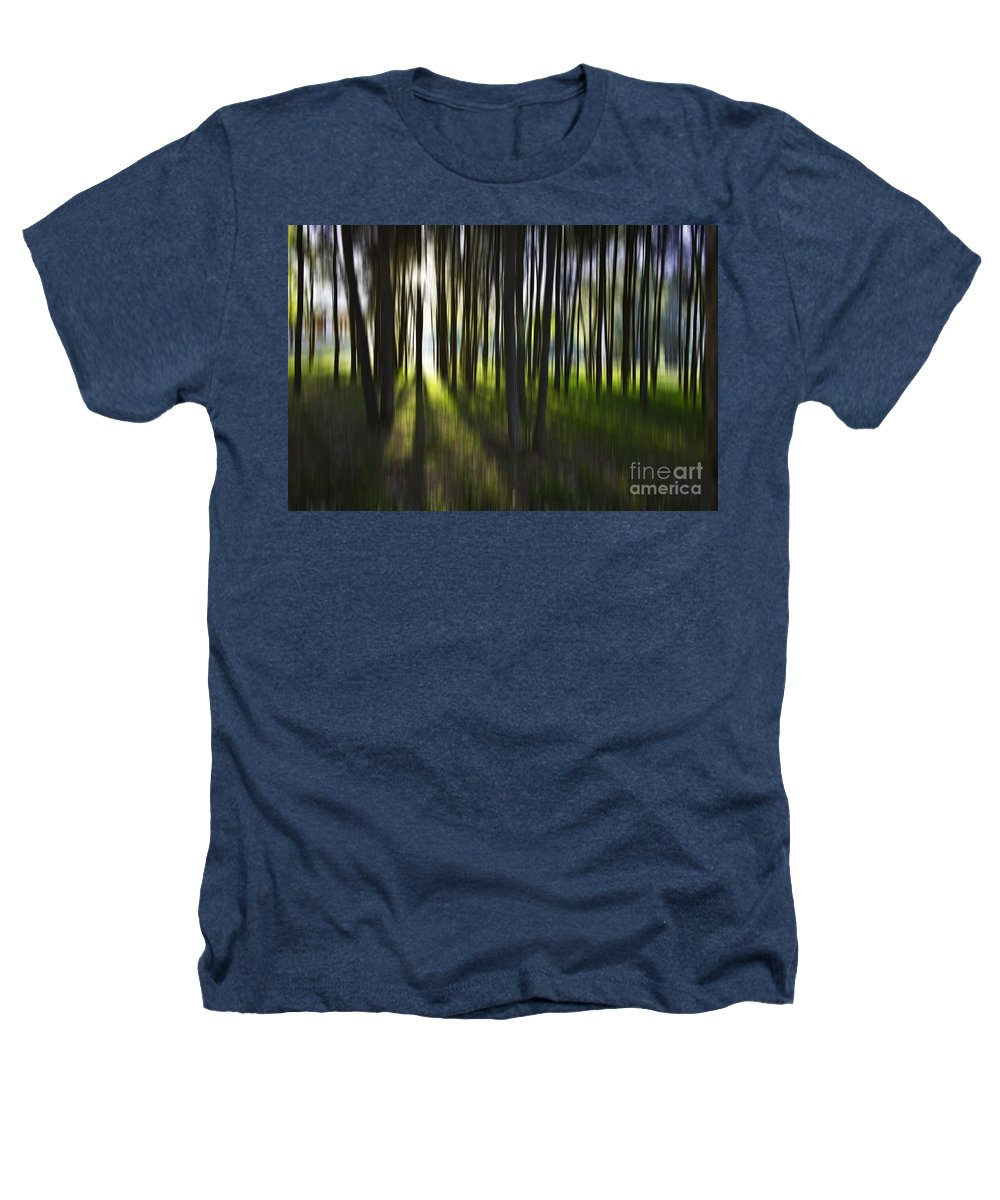 Trees Abstract Tree Lines Forest Wood Heathers T-Shirt featuring the photograph Tree Abstract by Avalon Fine Art Photography