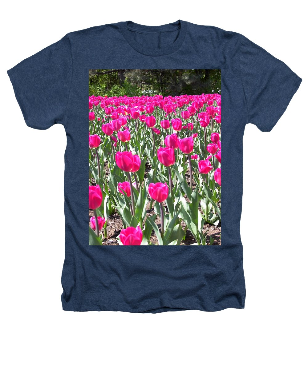Charity Heathers T-Shirt featuring the photograph Tulips by Mary-Lee Sanders