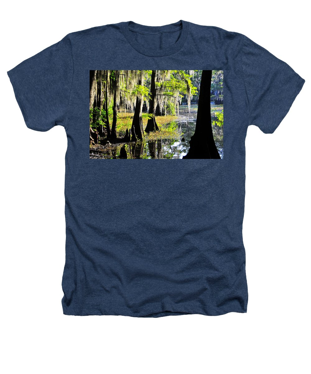 Skip Hunt Heathers T-Shirt featuring the photograph Uncertain by Skip Hunt